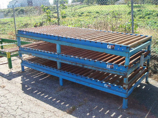 LOT OF MISC. ROLLER CONVEYORS