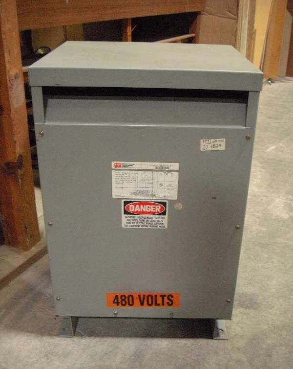FEDERAL PACIFIC 20 KVA 3-PHASE TRANSFORMER