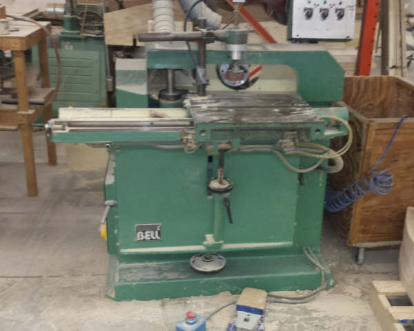 BELL B-630 TRIM, SHAPE, AND BORE MACHINE