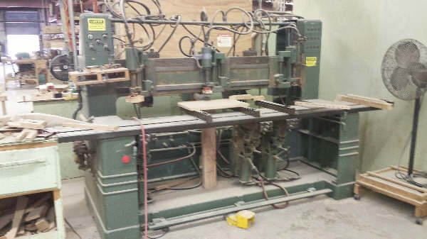 BELL 100, HORIZONTAL AND VERTICAL BORING MACHIINE