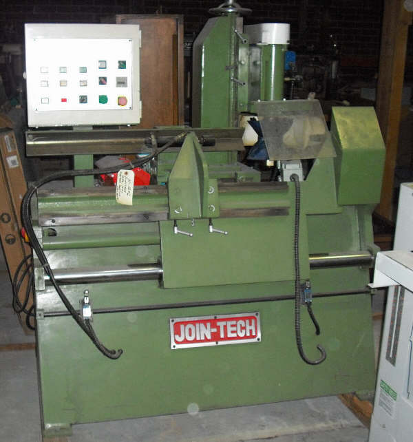 JOIN-TECH WSC-1000 SQUARE CUTTING/PROFILE SHAPING MACHINE