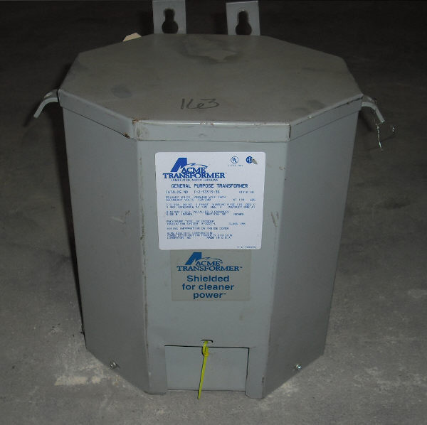 ACME TRANSFORMER, T-2-53515-3S, 7.5 KVA, SINGLE PHASE TRANSFORMER
