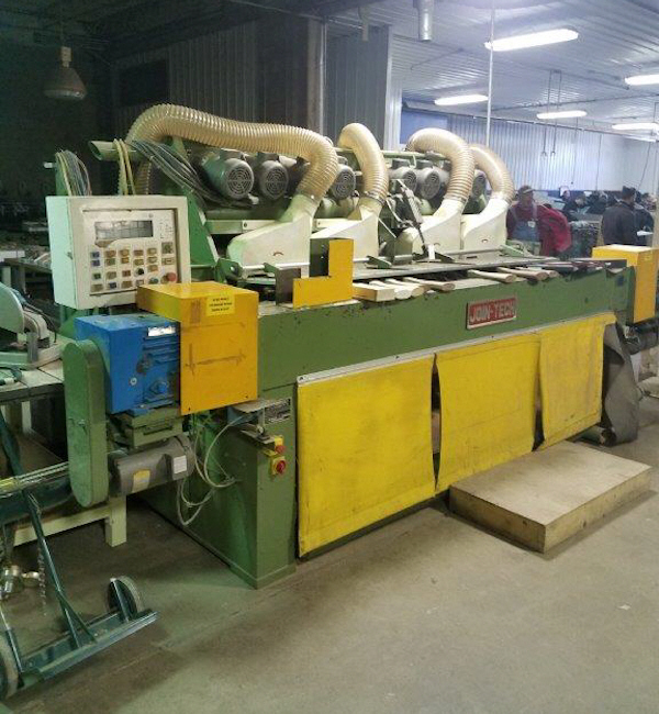 JOINTECH CSM 8/1000, 8-SPINDLE AUTOMATIC COPY SHAPER