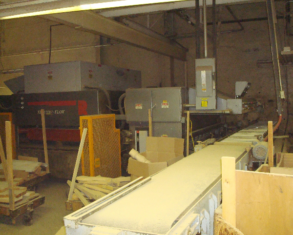 ROSENQUIST ELECTRO-FLOW CONTINUOUS FEED-THROUGH RADIO FREQUENCY GLUER