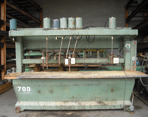 CEMCO 10 FT MULTI-SPINDLE VERTICAL AND HORIZONTAL BORING MACHINE