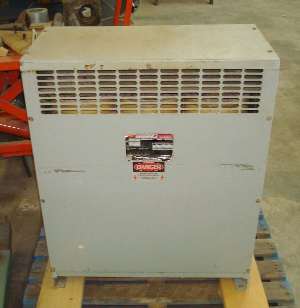 FEDERAL-PACIFIC RELIANCE ELECTRIC 75 KVA, 3-PHASE TRANSFORMER