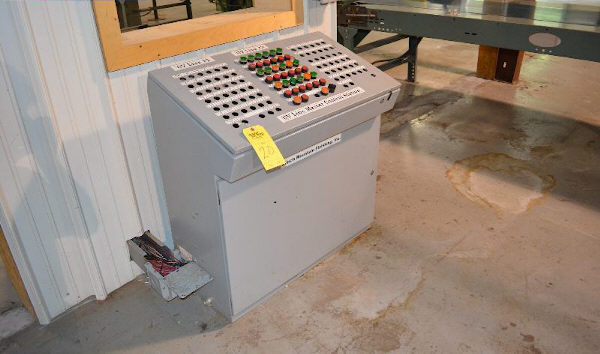 LOBO ROLL COATER LINE CONTROL PANEL