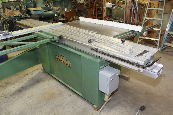 CHAMBON SCF-284-285 SLIDING TABLE SAW