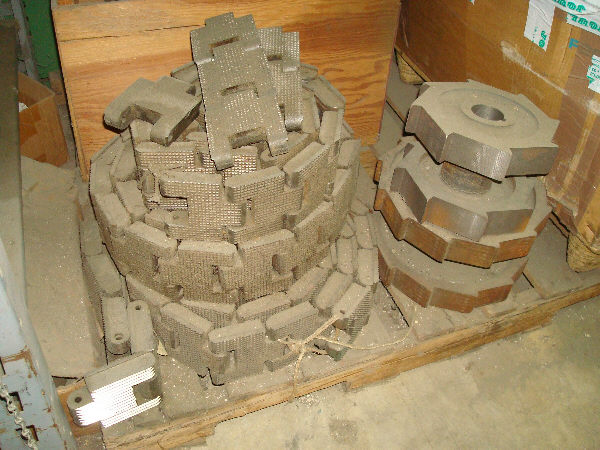 USED CHAINS, RACES, & PARTS FOR DIEHL, MATTISON, & EKSTROM-CARLSON RIPSAWS