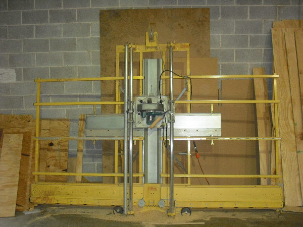 TRAX VERTICAL PANEL SAW