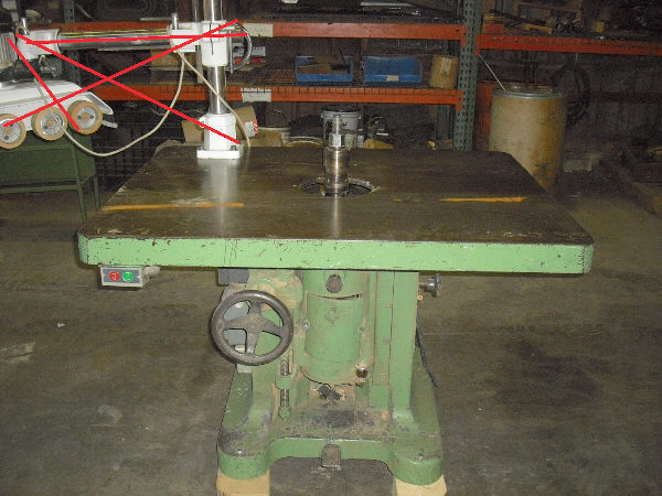 PORTER 203 SINGLE-SPINDLE SHAPER