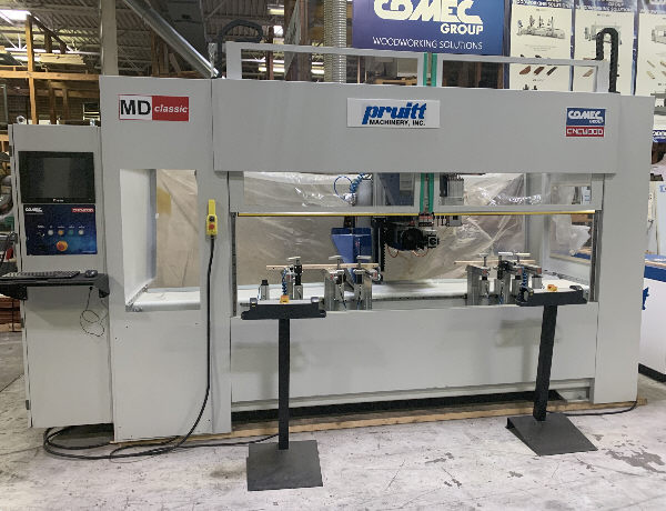 COMEC MD CLASSIC-4, 3-AXIS DRILLING AND ROUTING WORK-CENTER