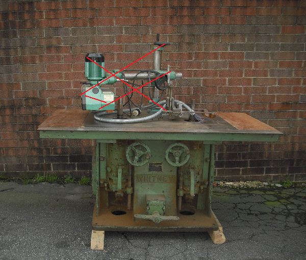WHITNEY #134 DOUBLE-SPINDLE SHAPER