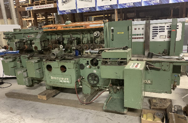 IIDA M-181C, 6-HEAD MOULDER
