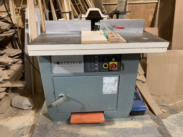 NORTHTECH NT-625S-73-1 SINGLE-SPINDLE SHAPER