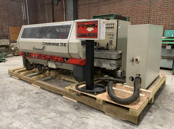 WEINIG HYDROMAT H-23C, 6-HEAD HIGH-SPEED MOULDER WITH ACCESSORIES