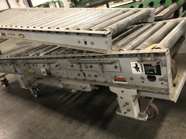 24 INCH WIDE x 6 FT LONG HYTROL POWER ROLLER CONVEYOR