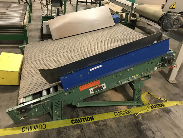 4 FT WIDE x 5 FT-8 INCH LONG BELT CONVEYOR