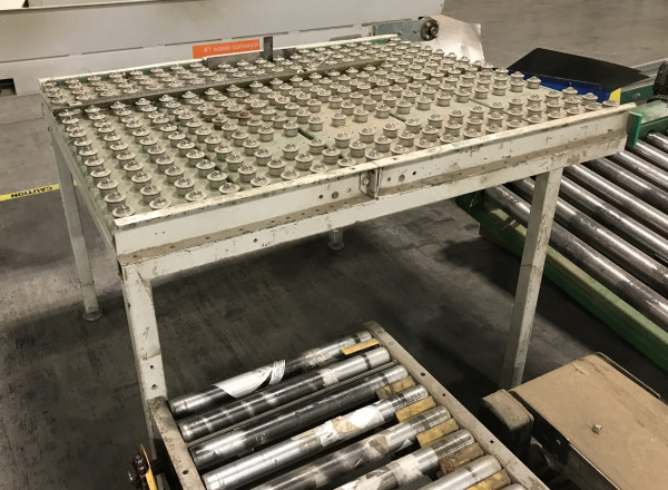 4 FT WIDE x 5 FT LONG BALL CONVEYOR