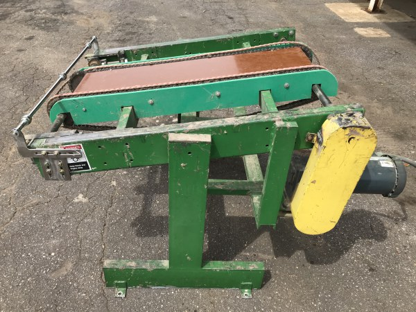 4 FT x 4 FT INCLINE 2-CHAIN CONVEYOR