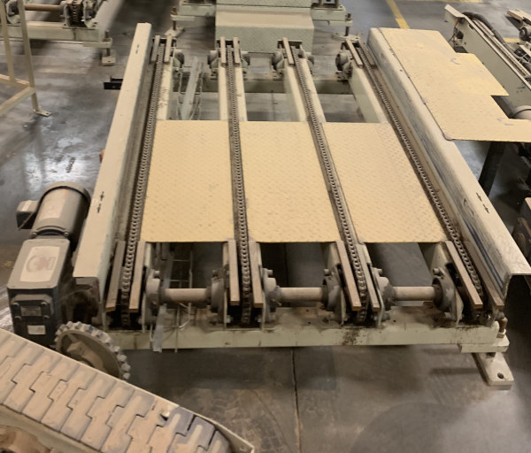 45 INCH WIDE x 15 FT LONG 4-CHAIN CONVEYOR