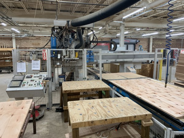 SHODA NC163-4432, 5 FT x 12 FT SINGLE-TABLE CNC ROUTER