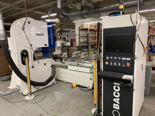 BACCI MASTER/CUT CNC BANDSAW WITH ROUTER UNIT