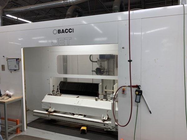 BACCI JET/L 5-AXIS CNC MACHINE CENTER