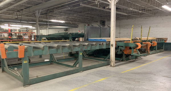 BUSS-AUTOMATION �CUT-TO-LENGTH� LUMBER-LINE