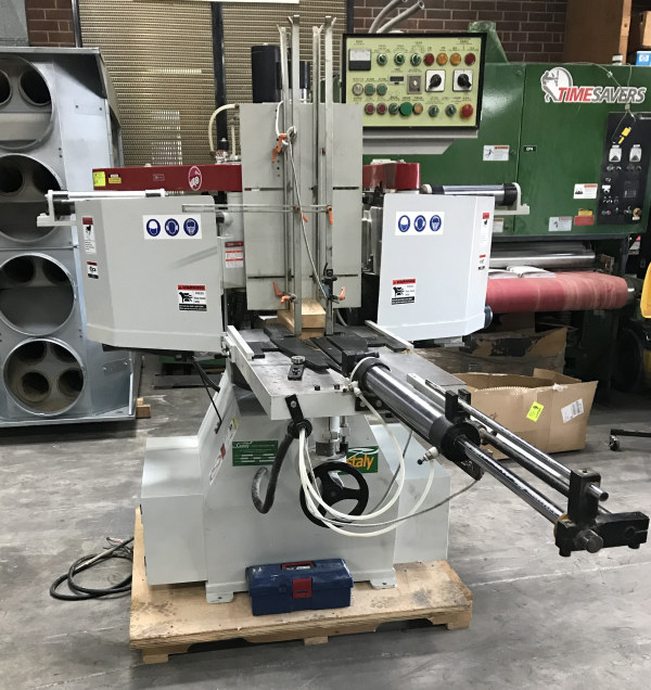 CASTALY CS-30DS AUTOMATIC DOUBLE-HEAD ROTARY SHAPER