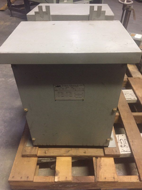 UTILITY AIR COOLED 20 KVA TRANSFORMER