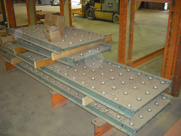 (4) HYTROL BALL BALL TRANSFER CONVEYORS
