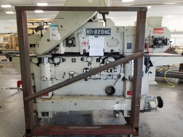 NORTHTECH NT-820HC, 30 INCH TOP & BOTTOM PLANER