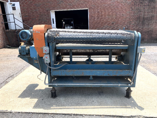 DUBOIS ELM-48, HEAVY-DUTY 48 INCH FEED-THROUGH DISTRESS ROLL MACHINE