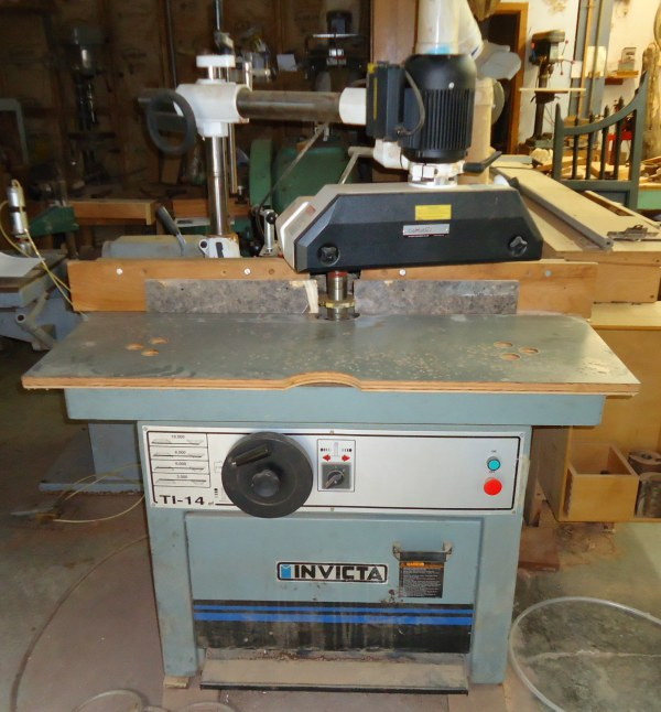 INVICTA TL-14 SHAPER WITH COMATIC 4-ROLL POWER FEEDER
