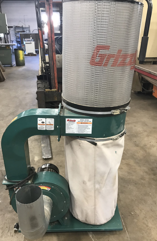 GRIZZLY G0548Z, 2 HP CARTRIDGE TYPE DUST COLLECTOR