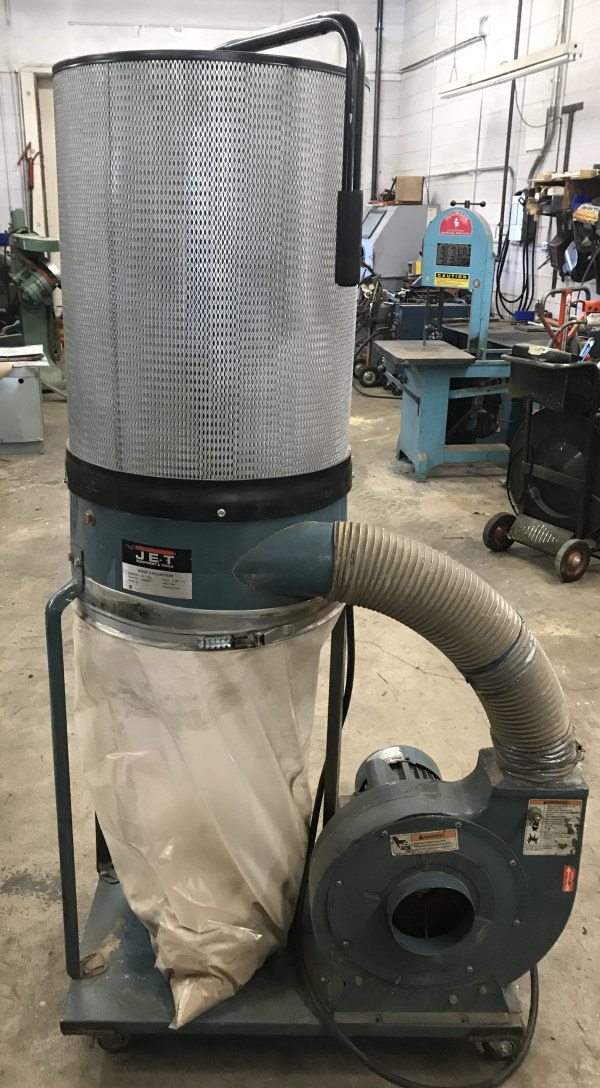 JET DC-1200 CARTRIDGE FILTER TYPE 2 HP DUST COLLECTOR