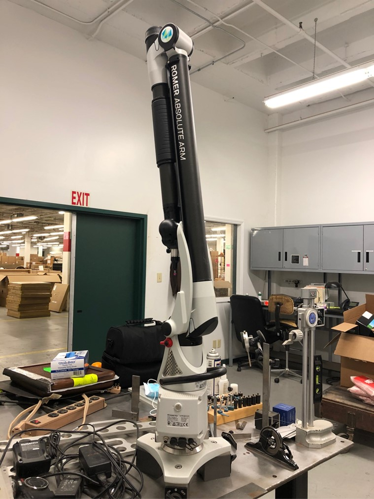 ROMER ABSOLUTE 6-AXIS MEASURING ARM