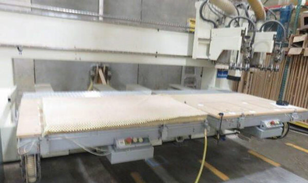 SCMI ROUTECH RECORD 220 5FT X 5FT TWIN TABLES CNC ROUTER