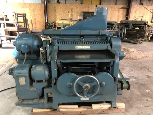 WHITNEY 29-A, 36INCH PLANER