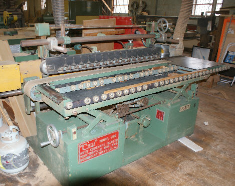 CRITZ 200 FEED-THRU PROFILE EDGE-SHAPE SANDER